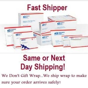 WE Dont Gift Wrap!...We Ship Wrap!...Get it Fast!